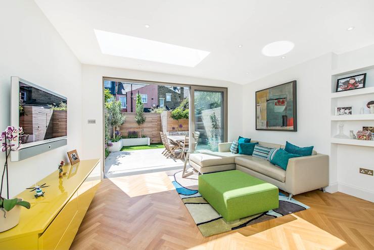 Family Living Salon moderne par homify Modern
