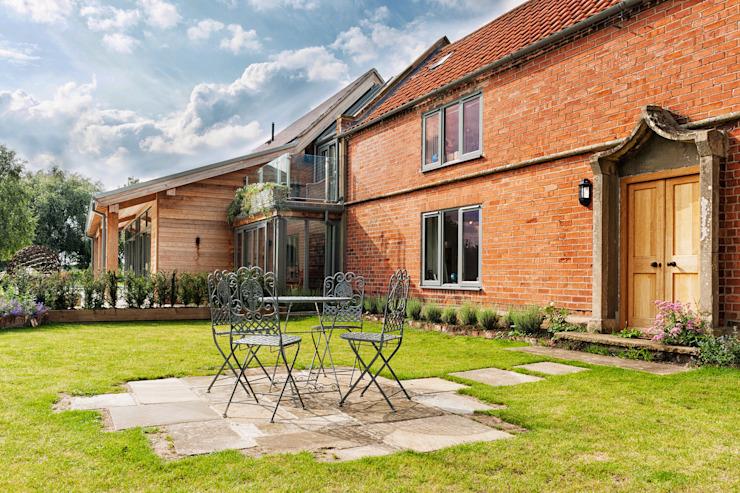 Rose Project Balcon, véranda et terrasse modernes par Dan Wray Photography Modern