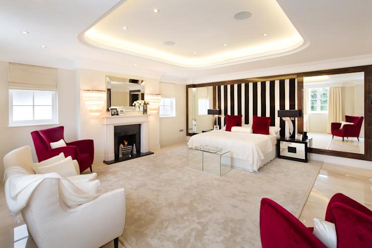 Fairways à l'avenue des Évêques Chambre à coucher de style moderne par Celia Sawyer Luxury Interiors Modern