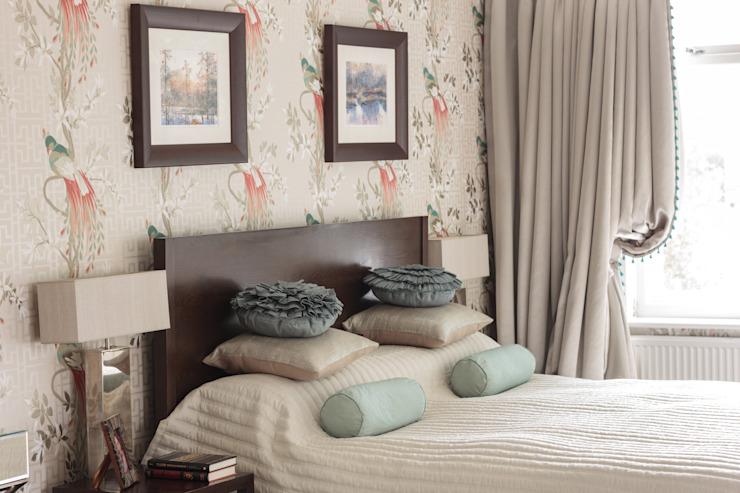 West Wimbledon Chambre à coucher de style classique par INTERIORS:designed Classic