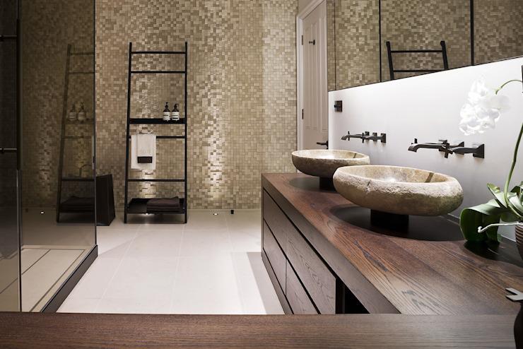 Hertfordshire Home Modern salle de bain par Alessandro Isola Ltd Modern