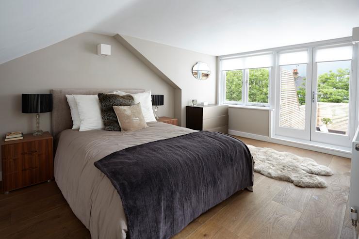 Rénovation de la maison, Kempe Road Chambre à coucher minimaliste par Gr8 Interiors Minimalist