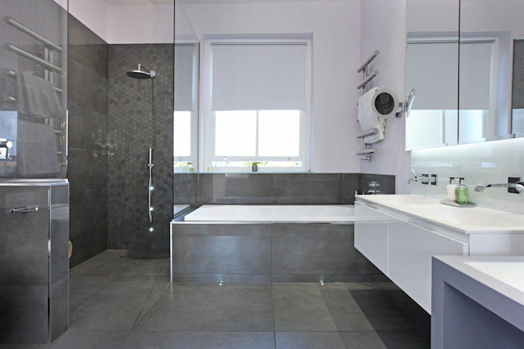 Battersea Town House Salle de bain moderne par PAD ARCHITECTS Modern
