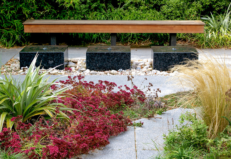 Jardin familial moderne contemporain Jardin moderne de Rosemary Coldstream Garden Design Limited Modern