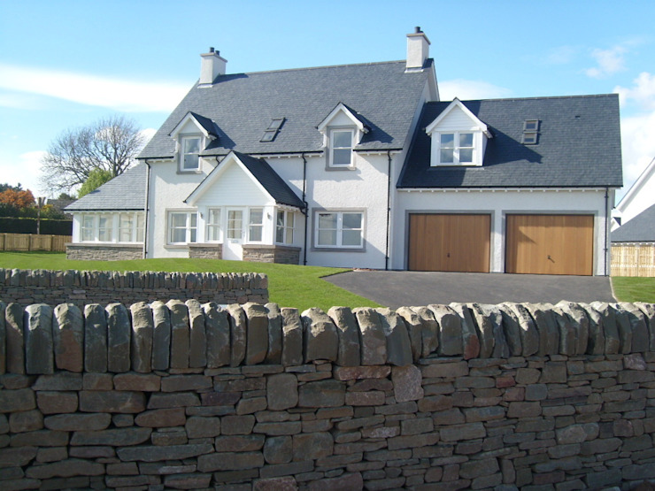 Ecclesgreig Gardens, St. Cyrus, Aberdeenshire Maisons modernes de Roundhouse Architecture Ltd Modern