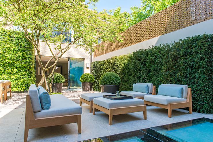 Jardin arrière de la Bedford Gardens House. Jardin moderne par Nash Baker Architects Ltd Modern