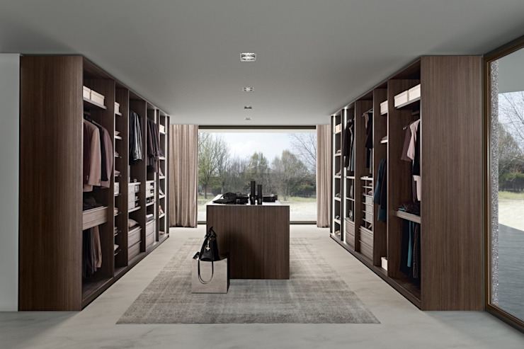 LINK WALK-IN WARDROBE : moderne par IQ Furniture, Modern