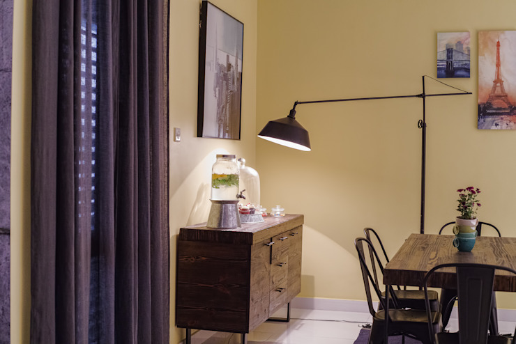 Salon industriel : éclectique par Aorta le coeur de l'art, Eclectique fer/acier