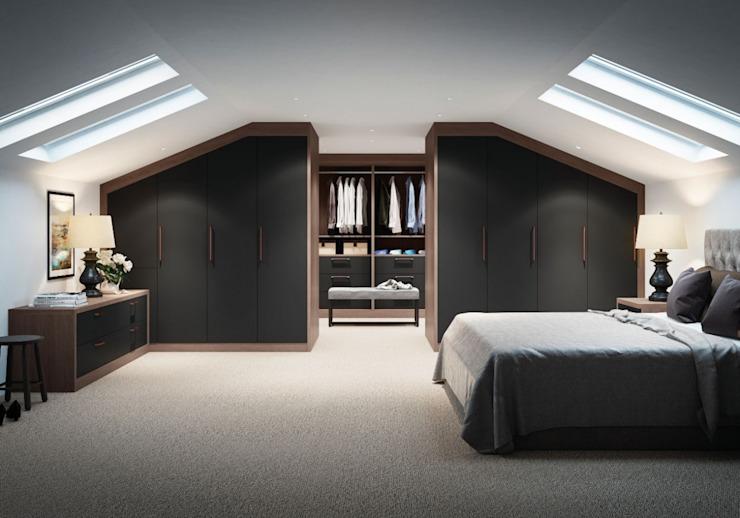ARMOIRE DE PORTE À PORTES PORTANTES MAYFAIRES : moderne par IQ Furniture, Modern