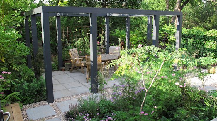 Jardin pergola contemporain Jardin moderne par Fenton Roberts Garden Design Modern