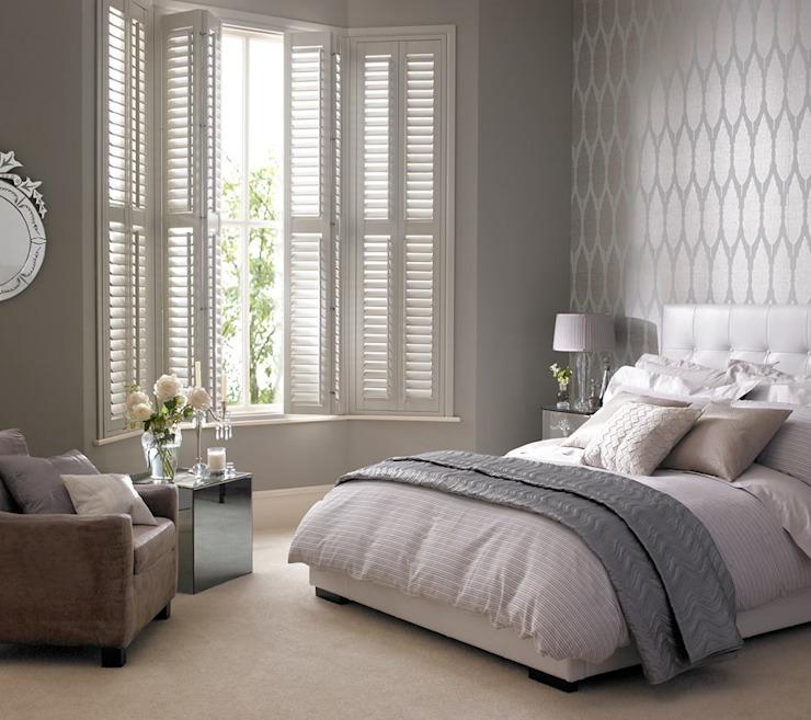 Kenilworth Volets en bois/vinyle à vie Chambre à coucher de style classique par Thomas Sanderson Classic