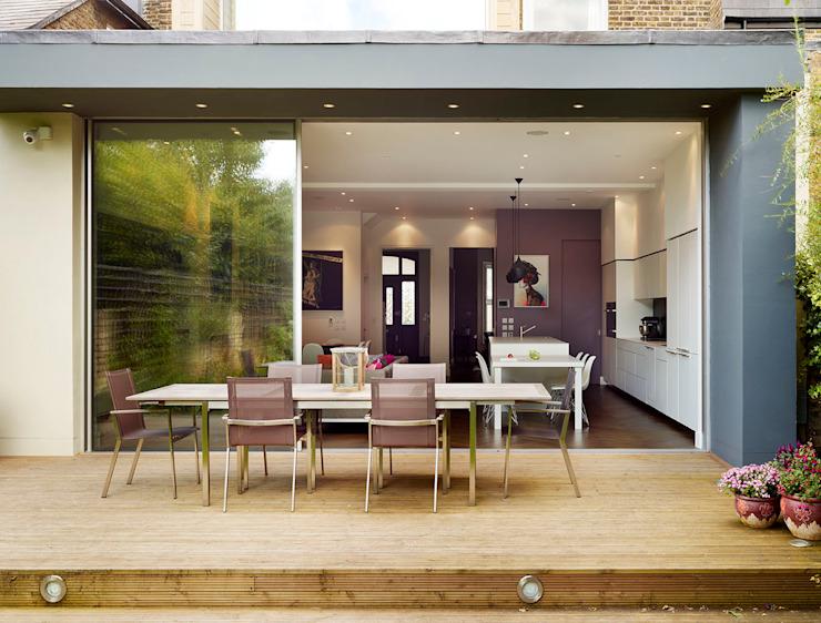 Espace de divertissement familial Cuisine moderne par Kitchen Architecture Modern