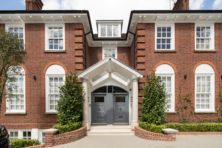 Templewood Avenue, NW3 Maisons de style classique par XUL Architecture Classic
