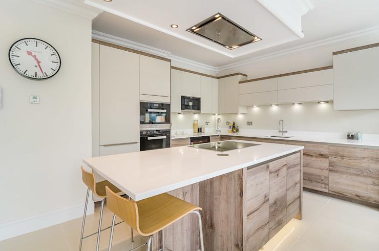 Oakhill Road, Putney Salle à manger moderne par Concept Eight Architects Modern