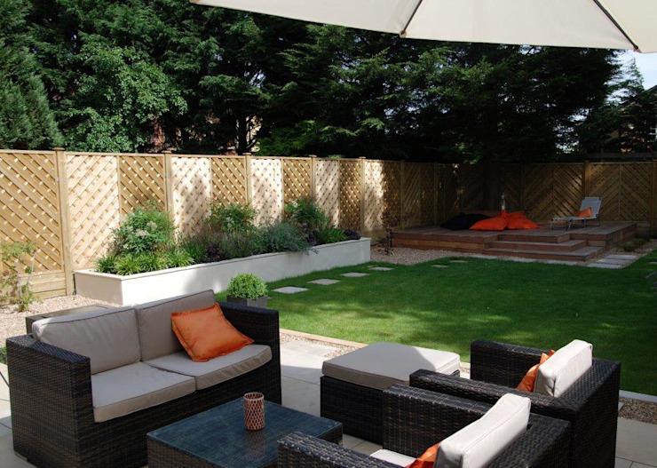 Jardin nécessitant peu d'entretien Christine Wilkie Garden Design Jardin moderne