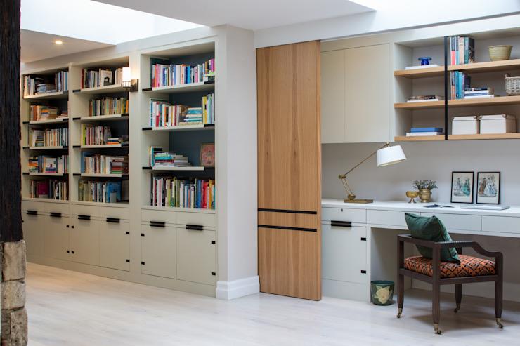Richmond - Home Office / espace de travail Étude/bureau moderne par Roselind Wilson Design Modern