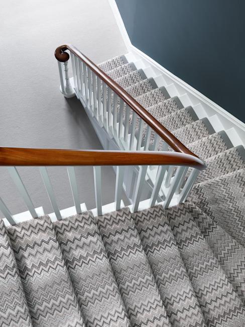 Les fabuleux escaliers de la laine de Nouvelle-Zélande moderne
