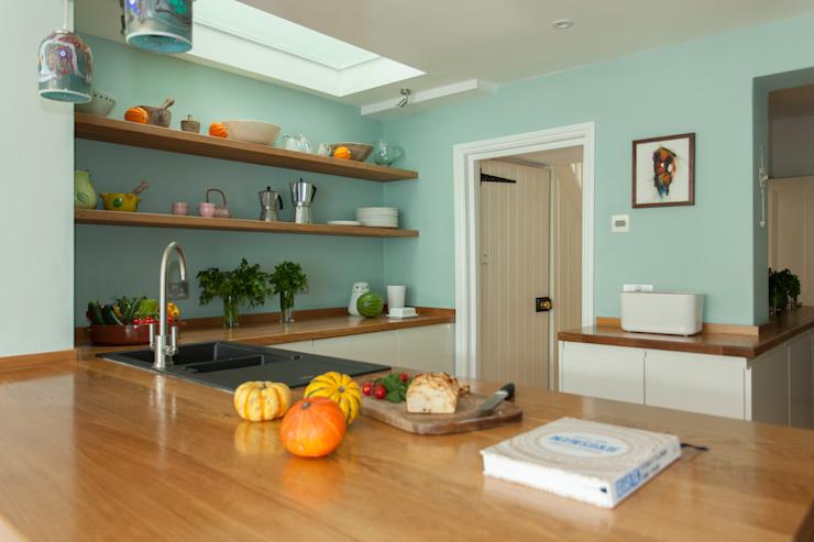 Extension de deux étages pour un artiste à Bishopston, Bristol Cuisine moderne de Dittrich Hudson Vasetti Architects Modern