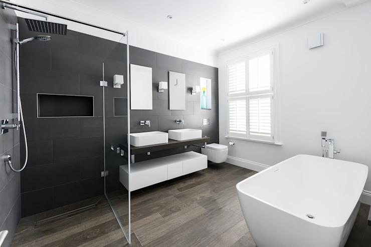 Disraeli Road, Putney Salle de bain minimaliste par Grand Design London Ltd Minimaliste