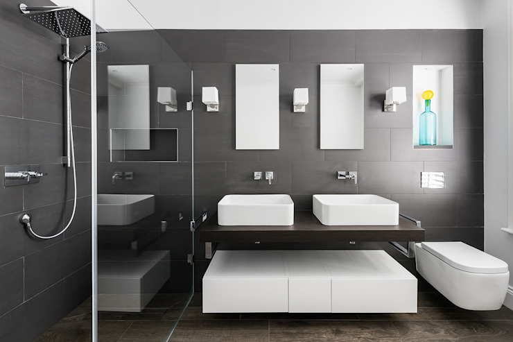 Disraeli Road, Putney Salle de bain minimaliste par Grand Design London Ltd Minimaliste