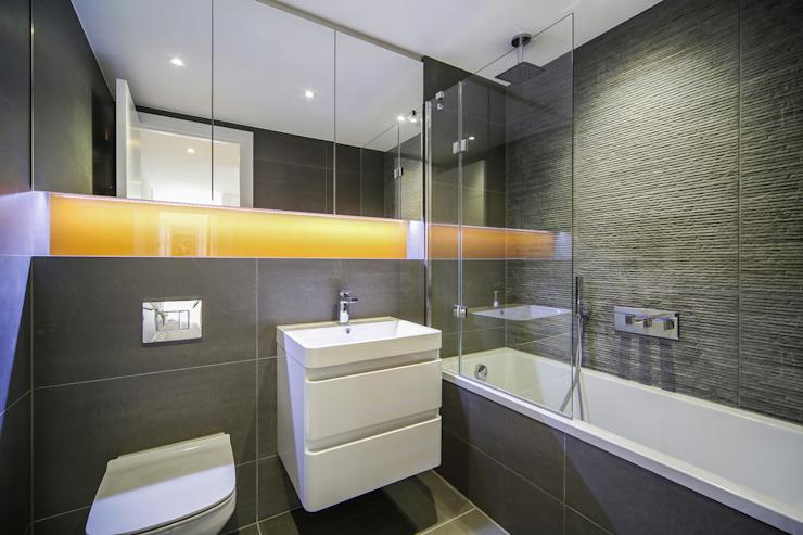 Douro Street, Londres Salle de bain moderne par GPAD Modern