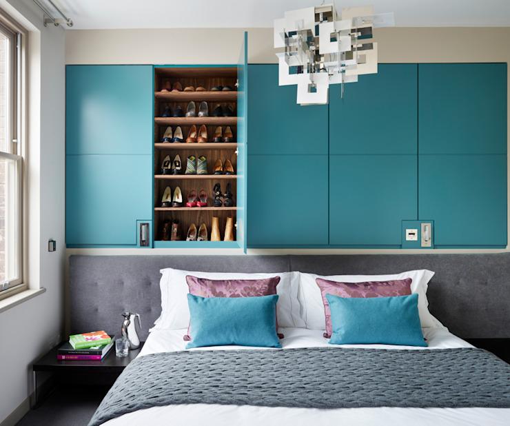 Projets Chambre à coucher de style moderne par Ensoul Modern