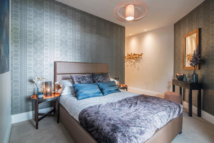 Musewll Hill, Londres Chambre de style éclectique par Jigsaw Architecture intérieure Cuivre/Bronze/Bras éclectique