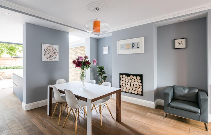 Oliphant Street, Queen's Park Salle à manger de style rustique par Grand Design London Ltd Rustique