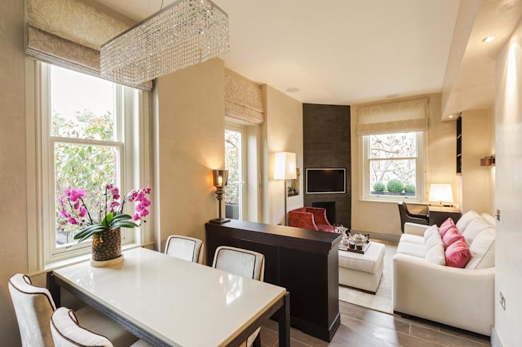 Bramham Gardens Salle à manger de style classique par Keir Townsend Ltd. Classique