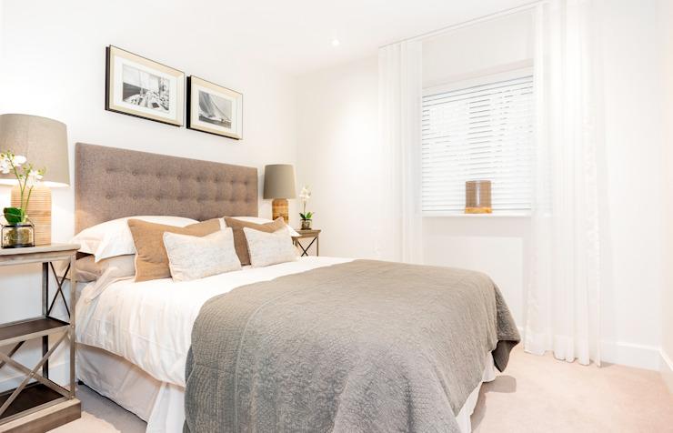 Chambre à coucher par WN Interiors Chambre à coucher de style moderne par WN Interiors Modern