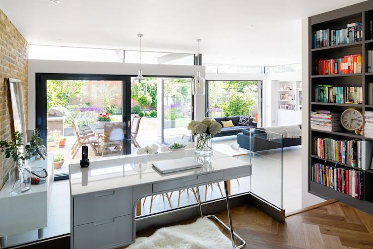 Broadgates Road SW18 Étude/bureau moderne par BTL Property LTD Modern