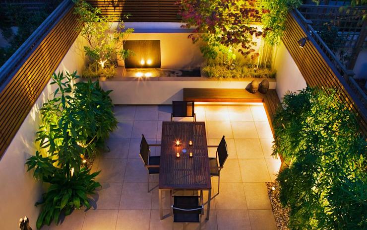Idées de jardins de cour Jardin moderne par MyLandscapes Garden Design Modern