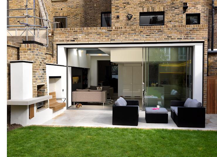 Gretel House Jardin de style rustique par Simon Gill Architects Rustic