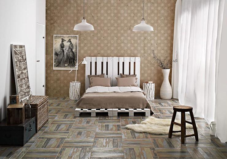 Pixers de style parisien Chambre à coucher de style classique Beige