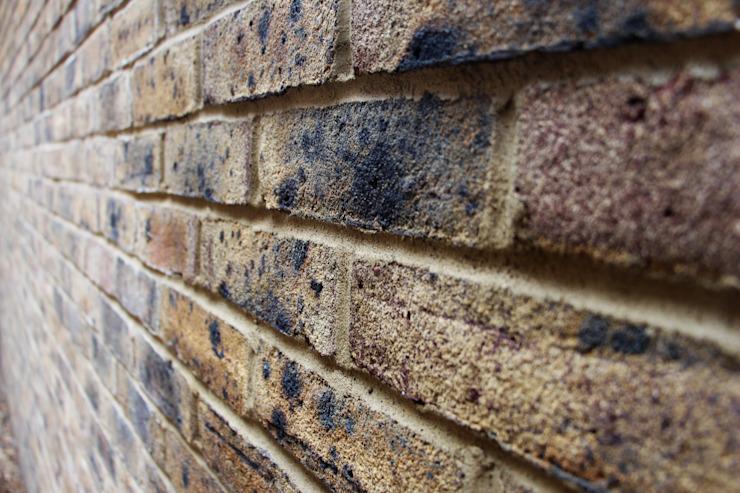 Mur de briques Murs et sols modernes par RS Architects Briques modernes