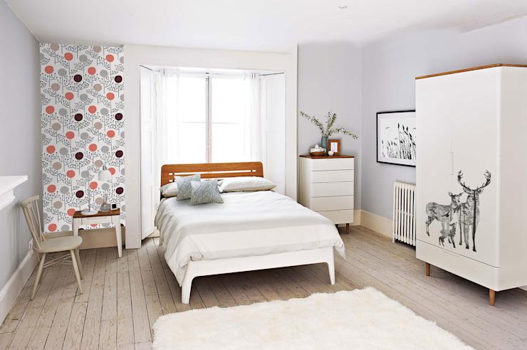 Chambre à coucher scandinave Chambre à coucher de style scandinave par Pixers Scandinavian