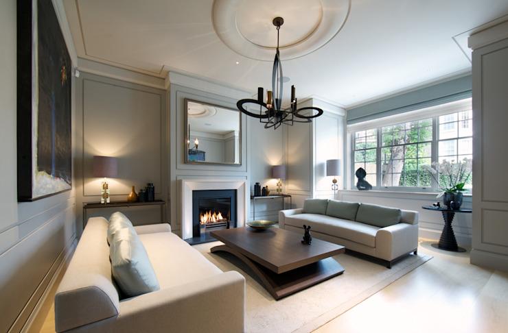 Salon de la maison Bedford Gardens. Salle de séjour moderne par Nash Baker Architects Ltd Modern
