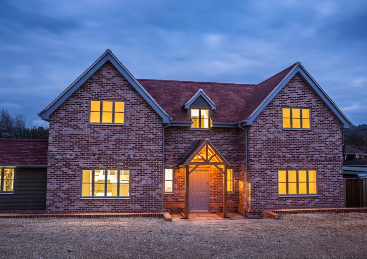 Journey's End, maisons de style Salisbury Country par D&N Construction Limited Country