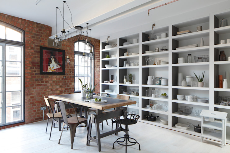 Shelving Unit : modern by Ligneous Designs, Modern