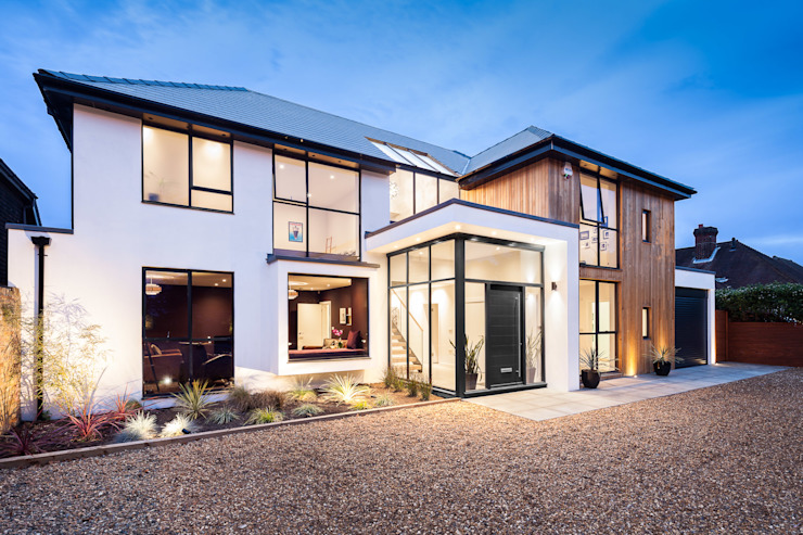 OATLANDS DRIVE Concept Huit architectes Maisons modernes