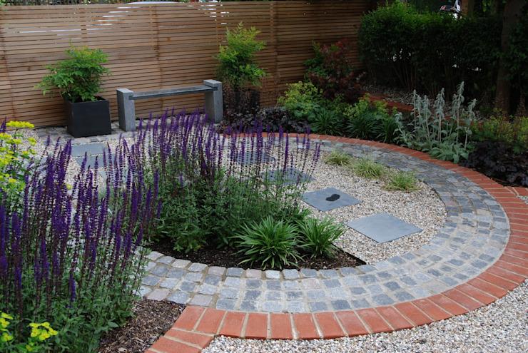 West London Contemporary Front Garden Jardin moderne par Christine Wilkie Garden Design Modern