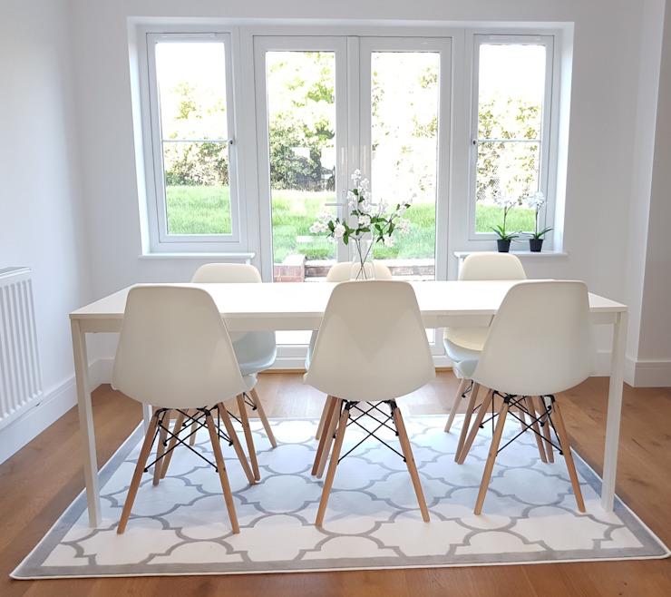 Maison de style Scandi Salle à manger de style scandinave par THE FRESH INTERIOR COMPANY Scandinavian
