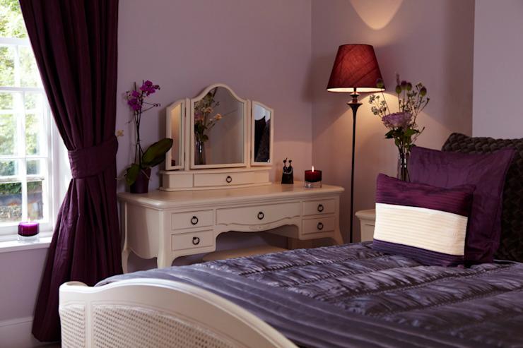 Ferme géorgienne Etons de Bath Chambre à coucher de style champêtre