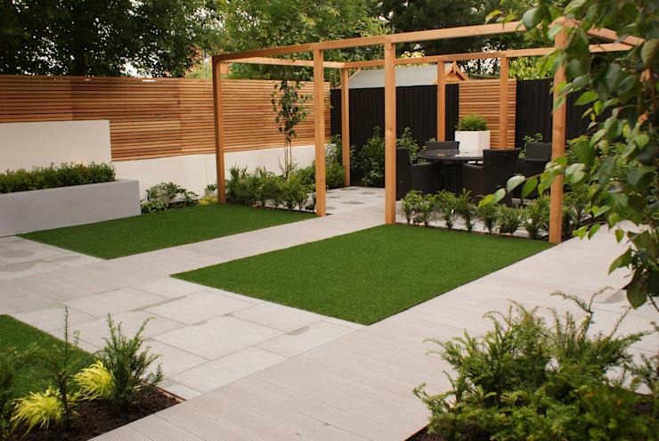 Conception du jardin Didsbury Jardin moderne par Hannah Collins Conception du jardin moderne