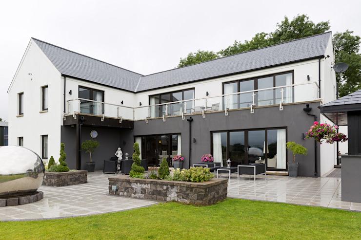 élévation orientée au sud Maisons modernes par les architectes du studio de design flamand Modern