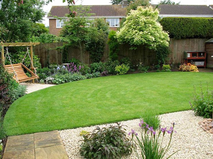 L'arrière-jardin Jardin de style champêtre par Jane Harries Garden Designs Country