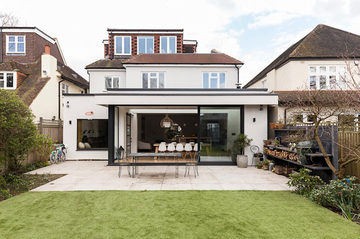 Parke Rd Barnes Maisons minimalistes par VCDesign Architectural Services Minimalist