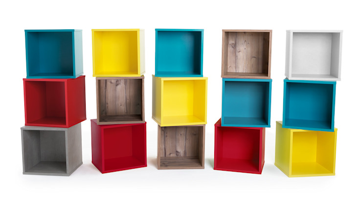 CLIC Shelf Cubes : moderne de Regalraum UK , Moderne