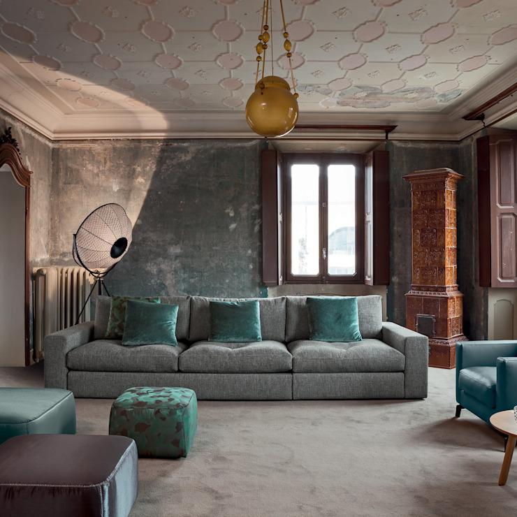 MADISON SOFA : classique de IQ Furniture, gris cuir classique