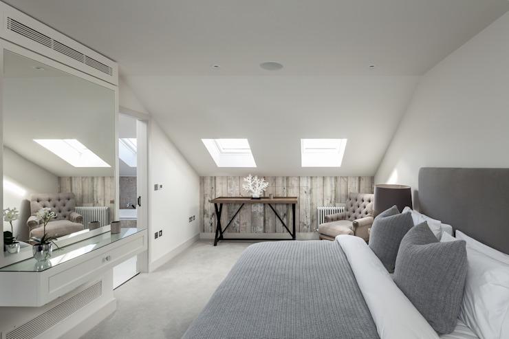 Kensington Town House Chambre à coucher de style moderne par London Home Staging Ltd Modern